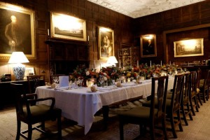 private castle dining room