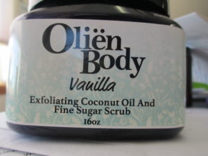 Olien Body Scrub