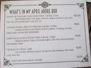 Adore Beauty Box