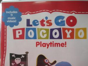 Let's Go Pocoyo DVD