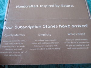 Subscription Stones