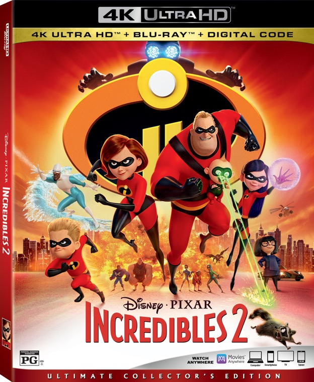 Incredibles 2 Blu-ray November 6th - Tabbys Pantry