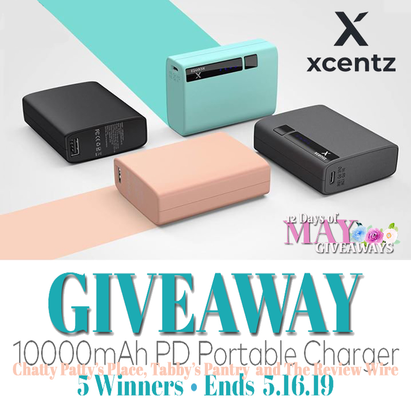 Xcentz Portable Charger Giveaway - Tabbys Pantry